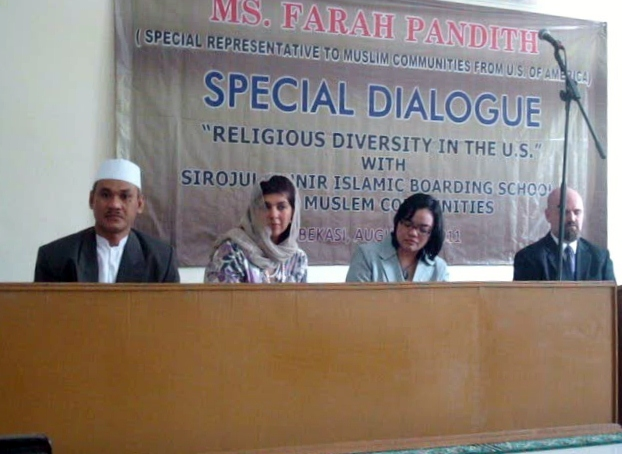 Ms Farah Anwar Pandith  from USA